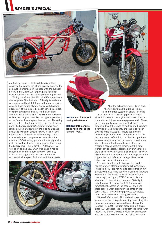 Classic Motorcycle Mechanics – International Magazine Centre
