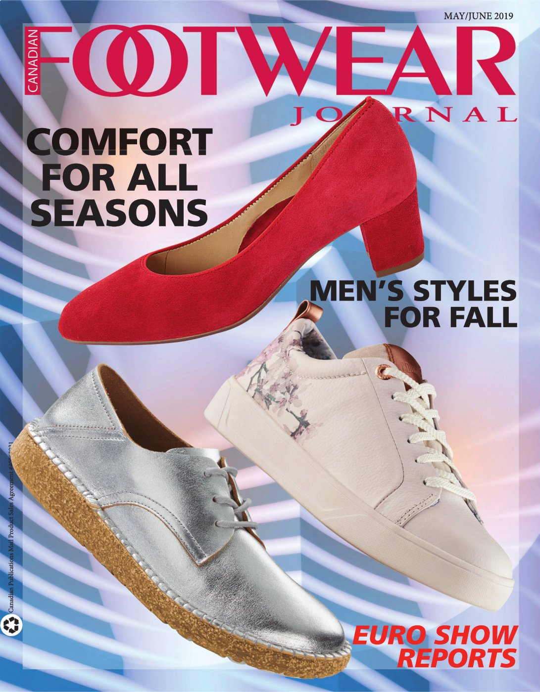 Canadian Footwear Journal May/June 2019 (McLeish Communications Inc)