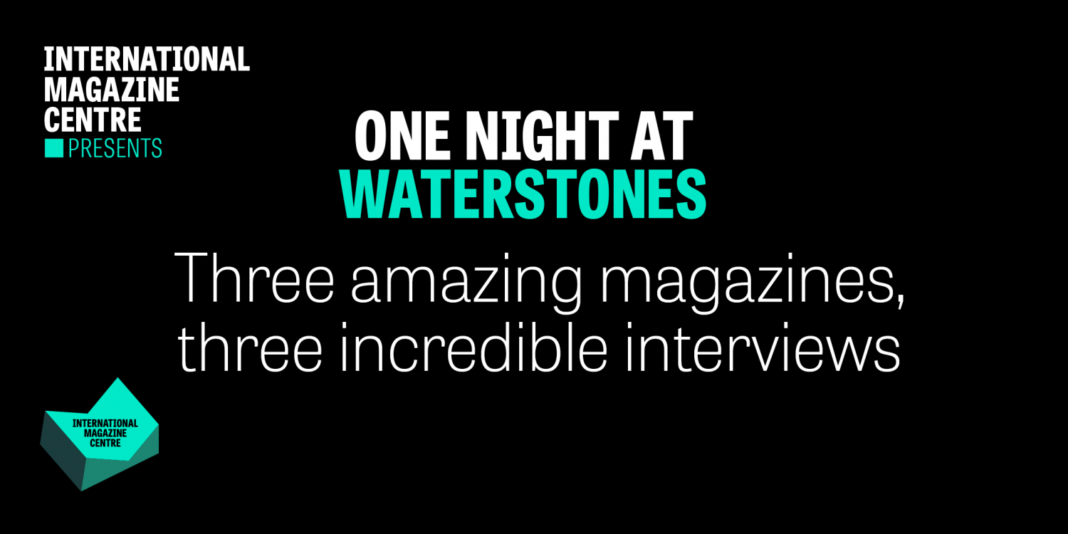 One Night at Waterstones banner