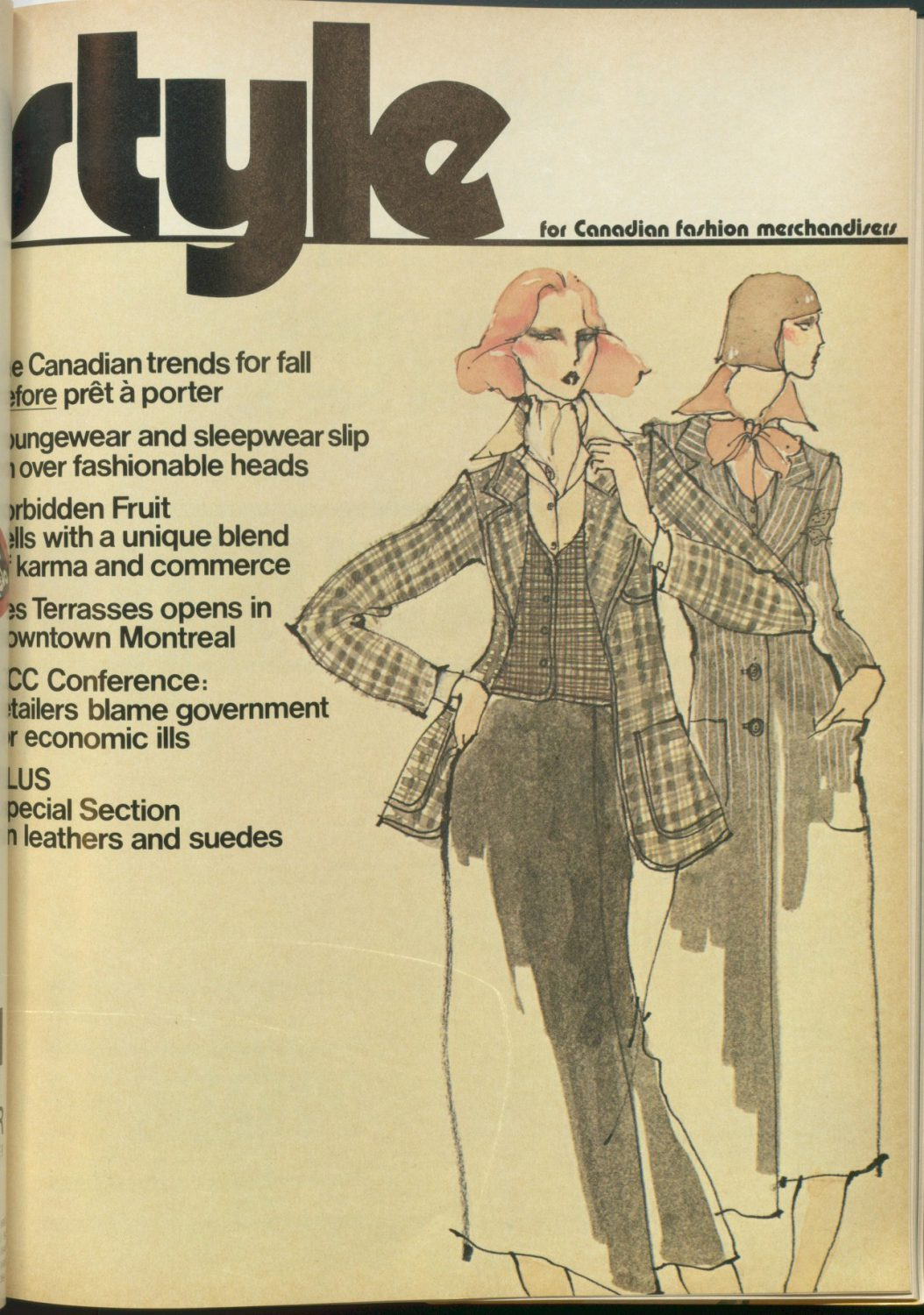 Style April 1976, Jonathan Wolford